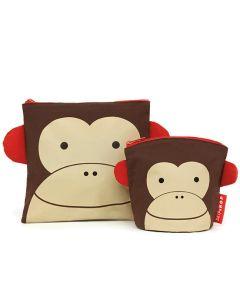 Skip Hop - Saszetki na przekąski Małpa