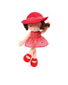 Lalka szmaciana przytulanka Babyono Doll Poppy 32 cm - zdjęcie nr 1