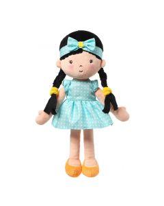 Babyono Doll Zoe 32 cm lalka szmaciana przytulanka - zdjęcie nr 1
