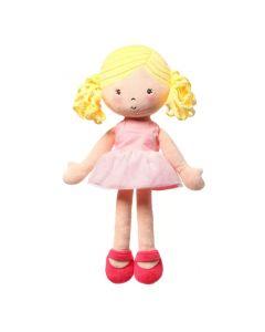 Lalka szmaciana przytulanka Babyono Doll Alice 32 cm - zdjęcie  nr 1