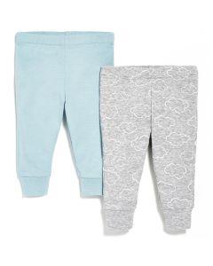 Skip Hop - Spodnie 2 szt. Blue 3M