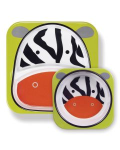 Skip Hop - Zestaw jedzeniowy Zoo Zebra