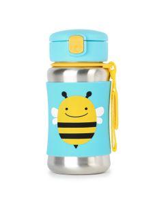 Skip Hop - Stalowy bidon Pszczoła Zoo