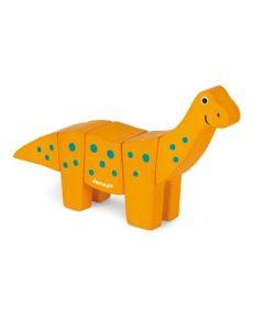 Janod - Brachiozaur drewniany do złożenia