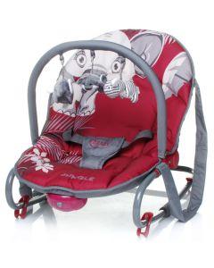 Leżaczek niemowlęcy 4baby Jungle z wibracją zdjęcie 1