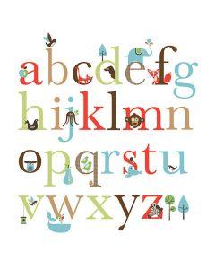 Skip Hop - Naklejki Alfabet