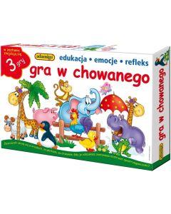 Gra w chowanego Adamigo - zestaw 3 gier edukacyjnych dla 4 latka - zdjecie 1