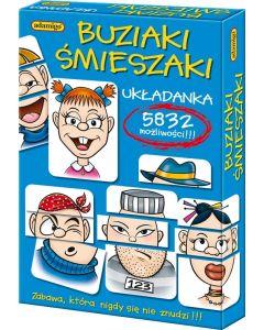 Buziaki śmieszaki - gry i układanki edukacyjne Adamigo - zdjecie 1