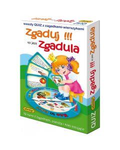 Quiz edukacyjny Zgaduj zgadula Adamigo - gra edukacyjna dla 4 latka - zdjęcie 1