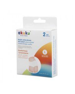 Majtki siateczkowe wielorazowe L AKUKU - zdjęcie 1