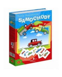 Puzzle magnetyczne samochody Alexander - zdjęcie 1