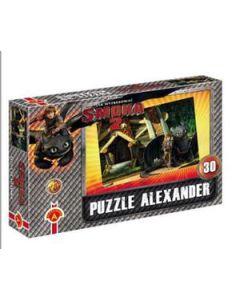 Chińczyk dla 6 osób + puzzle smoka 2 Alexander - zdjęcie 1
