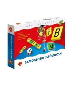 Gra edukacyjna Alexander Samogłoski i spółgłoski zdjęcie 1