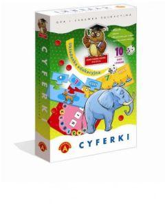 Cyferki układanka edukacyjna 10 gier Alexander