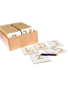 Drewniany alfabet polski i cyferki dla dzieci - drewniane litery i cyferki - zdjęcie 1