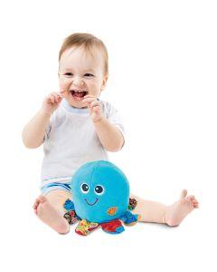 Zabawka uciekająca do nauki raczkowania Ośmiornica tańczę i wibruję Smily Play - zdjęcie 1