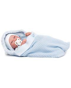 Hiszpańska lalka bobas Antonio Juan 42 cm oddycha - zdjęcie 1