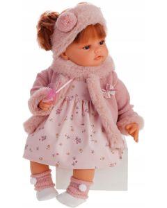Hiszpańska lalka Antonio Juan Beni Bufanda 42 cm płacze - zdjęcie 1