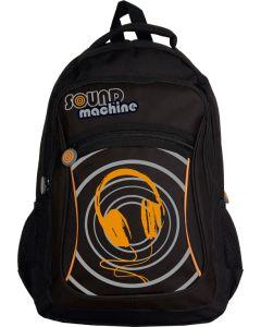 Plecak młodzieżowy Astra Sound Machine czarny - zdjęcie 1