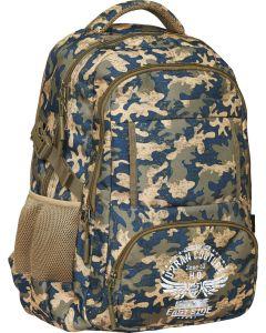 Plecak młodzieżowy moro OM-05 Open Mind ASTRA - zdjęcie 1