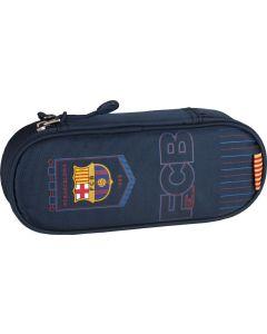 Saszetka piórnik FC Barcelona - piórnik sportowy dla chłopca