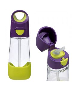 Butelka tritanowa ze słomką 450 ml, Passion Splash, b.box - zdjęcie 1