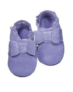 Buciki eleganckie Babice dla niemowląt lila - zdjęcie 1
