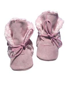 Ciepłe buciki niechodki zimowe dla dziewczynki - zdjęcie 1