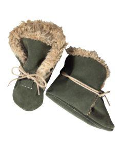 Buty zimowe dla niemowląt - ciepłe niechodki - zdjęcie 1
