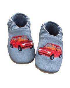 Kapcie do przedszkola dla chłopca baBice - samochód maluch - zdjęcie 1