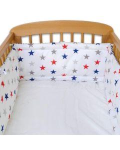 Ochraniacz na łóżeczko Babice gwiazdki różne kolory zdjecie 1