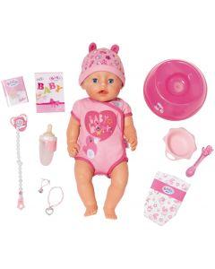 Lalka interaktywna bobas Baby Born 43cm soft touch zdjęcie 1