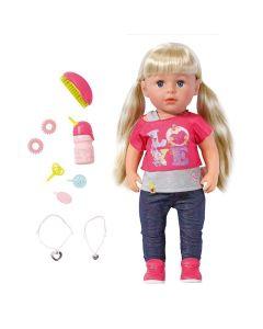 Lalka interaktywna siostrzyczka Baby Born z akcesoriami - Zdjęcie 1