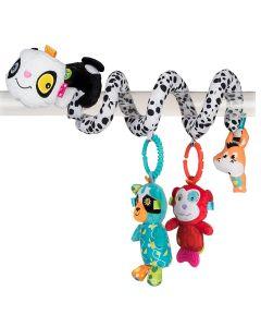 Aktywna spirala panda 5w1 Balibazoo dla niemowląt - zdjęcie 1