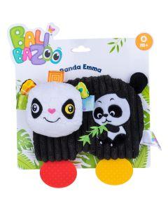 Gryzak panda Emma z lusterkiem Balibazoo