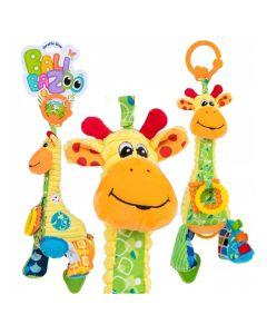 Zawieszka żyrafa Gina Balibazoo z pozytywką i gryzakami - zdjęcie 1