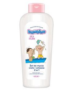 Żel do mycia ciała i włosów 2w1 Bambino 400ml