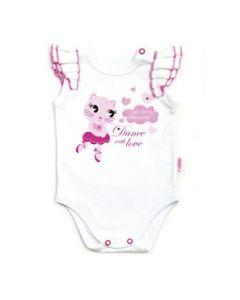Body niemowlęce bezrękawnik Barbaras kotek 56 - Zdjęcie 1