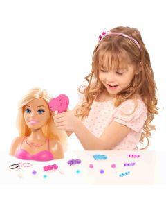 Barbie głowa do stylizacji blond - zdjęcie 1