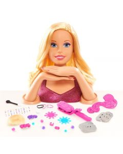 Barbie głowa do stylizacji duży zestaw
