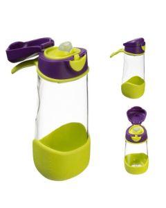 Butelka tritanowa ze słomką b.box - bidon bez BPA 450 ml - zdjęcie 1