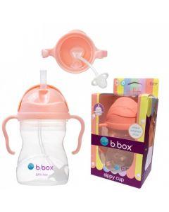 Bidon ze słomką dla dzieci b.box 240 ml. Kubek do nauki picia - zdjęcie 1