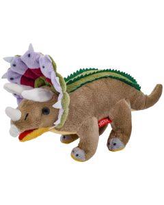 Maskotka dinozaur Triceratops pluszowy Beppe 30cm - zdjęcie 1