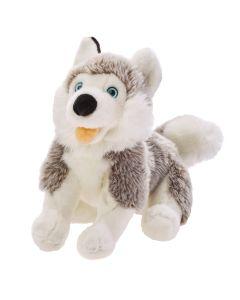 Maskotka pies Husky przytulanka Beppe 28 cm - zdjecie 1