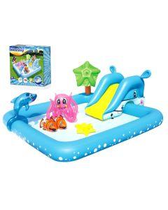 Basen plac zabaw dla dzieci do ogrodu Bestway Akwarium 53052 - zdjęcie 1
