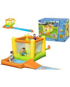 Wodny dmuchany plac zabaw Bestway trampolina ślizg 662 cm - zdjęcie 1