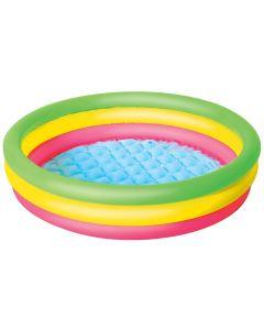 Kolorowy dmuchany basen dla dzieci Bestway 102 x 25 cm - zdjecie 1