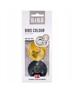 Smoczek uspokajający Bibs 2-pack z kauczuku hevea - zdjęcie 1