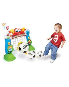Bramka do gry w piłkę nożną interaktywna Clementoni