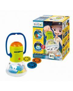 Latarka dla dzieci Buki 3w1 projektor lampka - zdjęcie nr 1